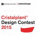 Una vasca multifunzione e un lavabo sinuoso vincono il Cristalplant design contest