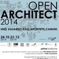 Open Architect 2014. Uno sguardo agli Architetti Camuni