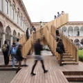 La Endless Stair ispirata ai disegni di Escher premiata al Wood Awards 2014