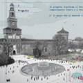Milano, Piazza Castello: il futuro dello spazio è social
