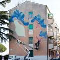 Studenti e street artist rivitalizzano San Basilio a ritmo di musica