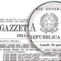 In Gazzetta Ufficiale il modello di Autorizzazione Unica Ambientale