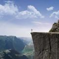 Un luogo per la contemplazione della natura sul Pulpit Rock