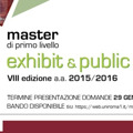 Exhibit & Public Design - a.a. 2015/2016