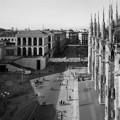Milano, Piazza Duomo attraverso gli occhi di Gabriele Basilico e Marina Ballo Charmet