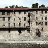 Visita al Lanificio Maurizio Sella, oggetto del Premio Maggia 2015
