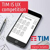 TIM IS UX competition - nuovo concept per il portale web Impresa Semplice