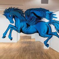 Le illusioni grafiche di Truly Design al museo Ettore Fico