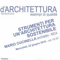 Strumenti per un'architettura sostenibile