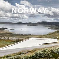 Norvegia. Architettura, Infrastruttura e Paesaggio. Fotografie di Ken Schluchtmann