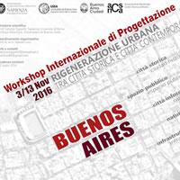 Da Roma a Buenos Aires per il workshop internazionale di progettazione sulle aree degradate