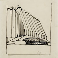 Antonio Sant'Elia - All'origine del progetto: a Como prosegue la mostra dedicata all'architetto e ai suoi disegni