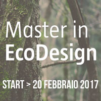 Master di I livello in Eco Design alla University of the Arts di Roma