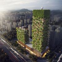 Il Bosco Verticale di Stefano Boeri vola a Nanchino, in Cina