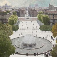Il gruppo di Emanuele Genuizzi si aggiudica il concorso per Piazza Castello - Foro Buonaparte