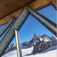 Museo Skyway Monte Bianco. Allestimento dello spazio museale al Pavillon du Mont Fréty