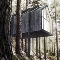 Annunciati i risultati del concorso Castle Resort: vince l'idea di una cabina immersa nella natura