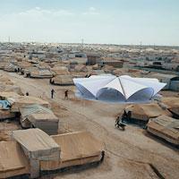 Maidan tent: il progetto di due giovani architetti italiani per il campo profughi di Ritsona, in Grecia