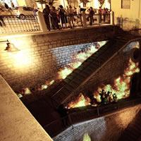 FANOI. Festa degli alberi in fuoco: un'installazione temporanea per la Città delle 100 scale Festival 2017