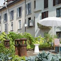 L'orto fra i cortili a casa dei Piuarch, a Milano