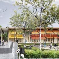 Nuova Scuola Panoramica di Riccione: il progetto dell'architetto Durante si distingue tra i 195 concorrenti