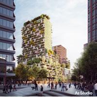 Il Bosco Verticale di Boeri conquista l'Olanda. La Torre dei Biancospini a Utrecht