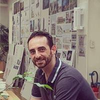 Dionysios Tsagkaropoulos, il responsabile immagine di Renzo Piano, al Campus Party a Milano