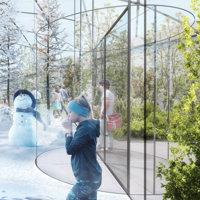 A Milano il padiglione-giardino di Carlo Ratti fa coesistere 4 stagioni: svelato il suo progetto per Citylife