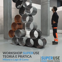 Workshop sul lago di Como con Césare Peeren di Superuse Studio per progettare con materiali di scarto