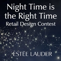 Night Time is the Right Time - Contest di retail design con Estée Lauder