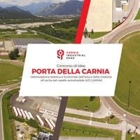 Porta della Carnia. Da rotatoria a ingresso al territorio del Friuli Venezia Giulia