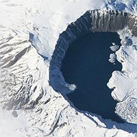 Nemrut Volcano Eyes. Un punto d'osservazione sul cratere del vulcano turco