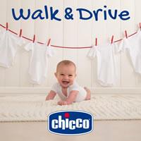 Chicco Walk&Drive. Un sistema trasformabile per soddisfare le esigenze di genitori e piccoli