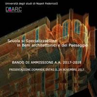 Scuola di Specializzazione in Beni Architettonici e del Paesaggio a Napoli