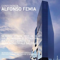 Master NIB. Alfonso Femia a Salerno per un nuovo incontro