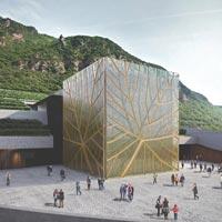 Il nuovo sito produttivo di Cantina Bolzano. L'architettura del vino si veste di green