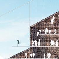 The Wall. Vince la facciata attiva degli Inter-Esse