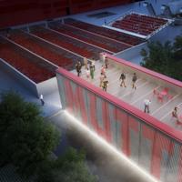 Carlo Ratti trasforma lo stabilimento Mutti a Parma usando migliaia di barattoli di vetro