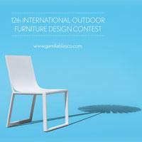12th Outdoor Furniture Design Contest. GandiaBlasco cerca idee originali per mobili da esterno