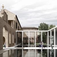 3TI Progetti e Labics si aggiudicano l'ampliamento degli spazi espositivi di Palazzo dei Diamanti a Ferrara