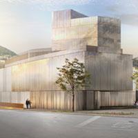 Acqua, luce, benessere. Un'architettura alpina contemporanea. In mostra i progetti per il centro termale di Ponte di Legno