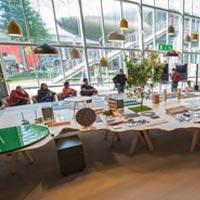All'Hybrid lounge una mostra e due talks sul ruolo dei materiali nell'Interior Design