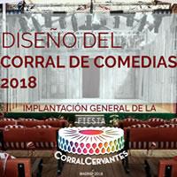 Uno spazio teatrale per la Fiesta Corral Cervantes di Madrid 2018