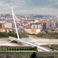 Cosenza, inaugurato il ponte-arpa firmato Santiago Calatrava