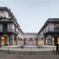 Attenta ai valori identitari, «Flânerie» si aggiudica il concorso per il restyling del Centro Piacentiniano di Bergamo