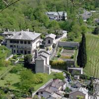 Un marchio per la promozione di Palazzo Vertemate Franchi in Valchiavenna