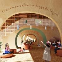 Pinocchio Children's Library: vince il percorso fiabesco dei francesi vGHcompany e l'italiano Alberto Morao