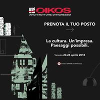 Seminari tecnici Oikos con Stefano Boeri e Philippe Daverio