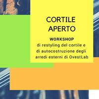 Cortile Aperto. Restyling del cortile dell'OvestLab di Modena