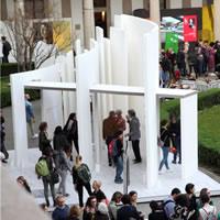 Library in Motion. L'installazione di Curatolo racconta la sfida delle Biblioteche di Comunità pugliesi